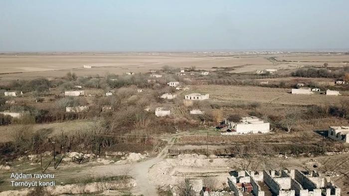 لقطات قرية ترنويوت في منطقة أغدام -   فيديو