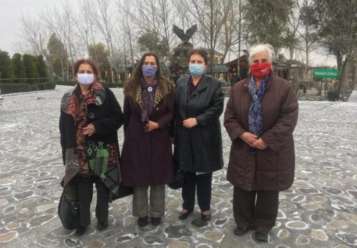 """""""Srebrenitsa anaları"""" Azərbaycana gəldi"""