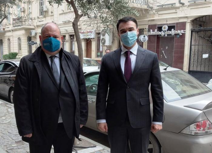 Azerbaijani MP meets with Belgian Ambassador