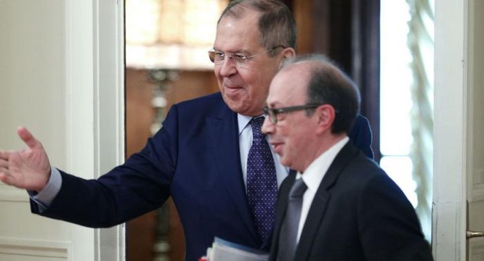 Lavrov və Ayvazyan İrəvandakı hadisələri müzakirə etdi