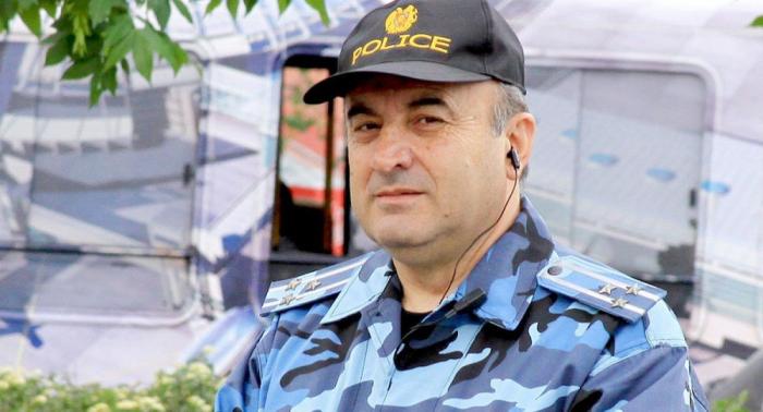 İrəvanda mitinqə çıxan polis polkovniki saxlanıldı