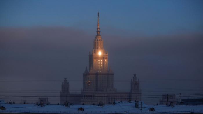 Moskvada qışın ən soyuq gecəsi qeydə alındı