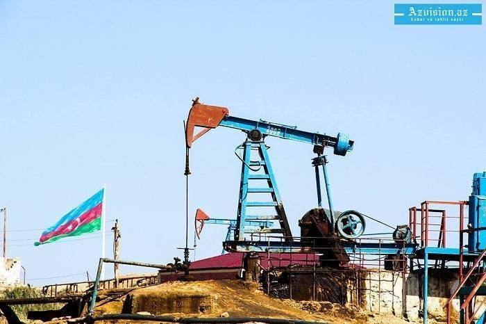 Le cours du pétrole azerbaïdjanais s