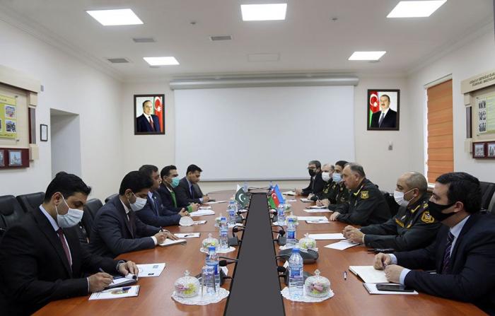 Azərbaycan və Pakistan generalları görüşdü