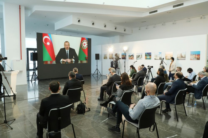 """President Aliyev to Iranian Journalist: """"It is easy to accuse someone.."""" - VIDEO"""