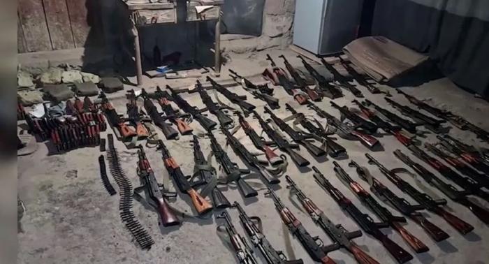 """Qarabağdan silah oğurlayıb satan """"polis"""" ələ keçdi -  VİDEO"""