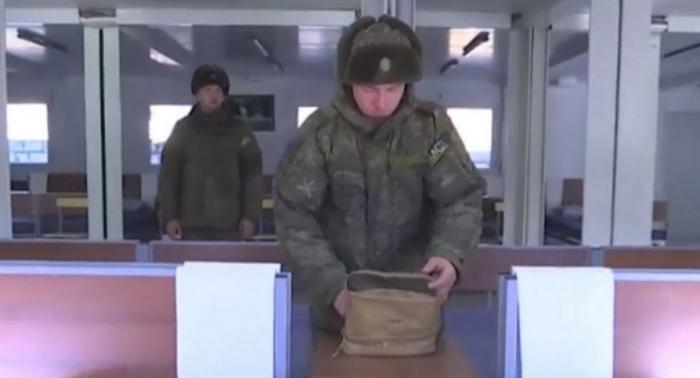 Le ministère russe de la Défense a diffusé des informations sur la situation au Karabagh