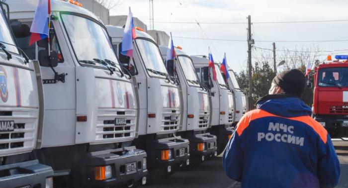 Rusiya Qarabağa humanitar yardım göndərdi