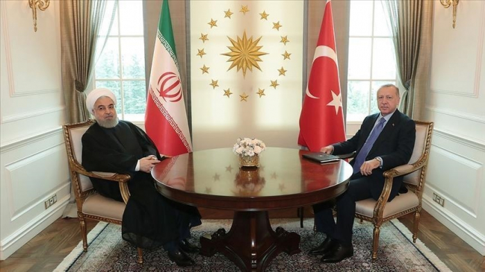 Erdogan et Rohani ont eu une conversation téléphonique