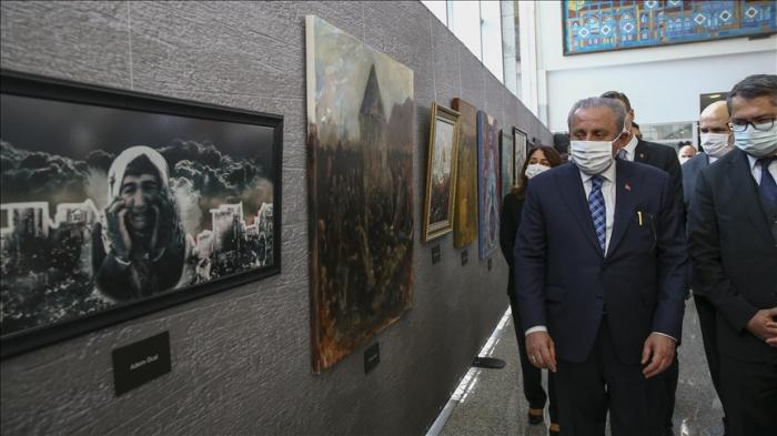 Turkish parliament hosts exhibition on Khojaly massacre