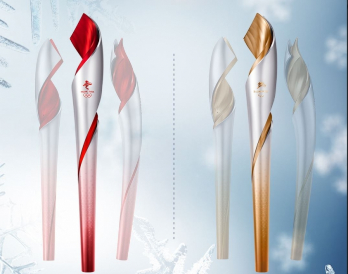 Beijing 2022 reveals Olympic torch