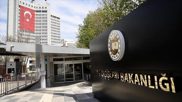 الخارجية التركية تصدر بيانا بشأن خوجالي