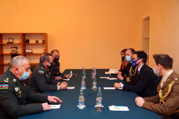 Azerbaijan, UK discuss military cooperation