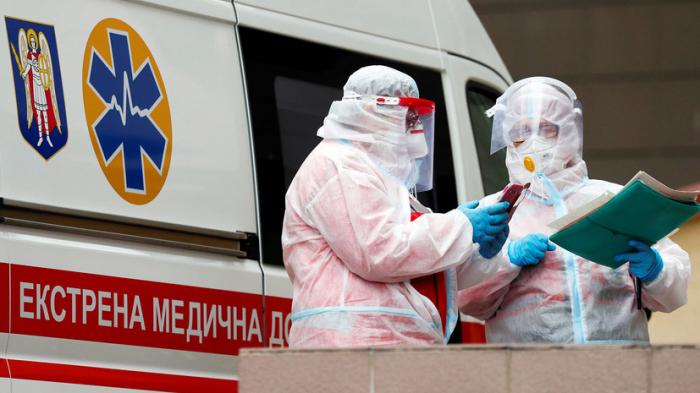 Ukraynada pandemiya qurbanlarının sayı artır
