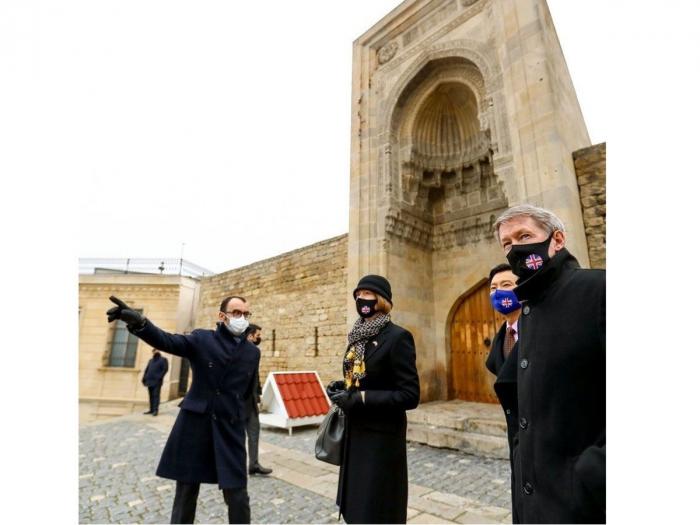 Azerbaijan has rich heritage - Wendy Morton