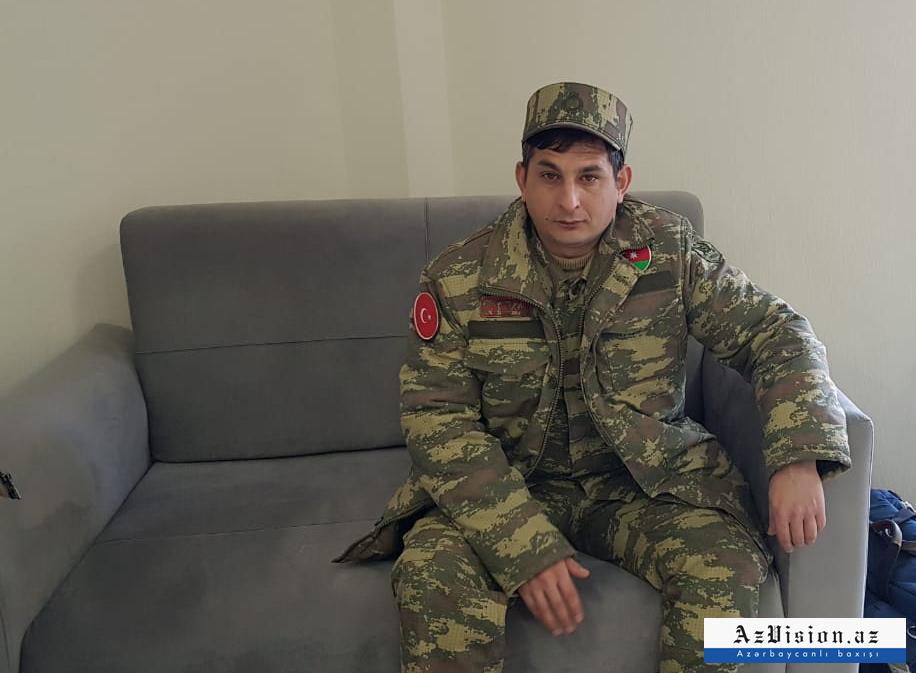 """""""Şəhidi ərazidən çıxarıb, sürünə-sürünə bir neçə kilometr yol gəldim"""" -  Qarabağ qazisi"""