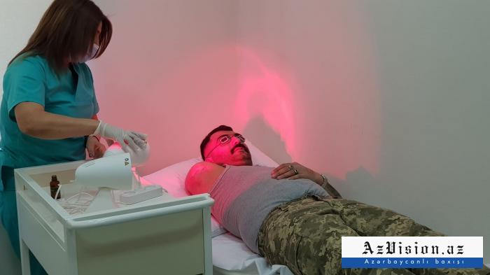 Sumqayıtda 15 qazi yüksək texnologiyalı protezlə təmin edilib