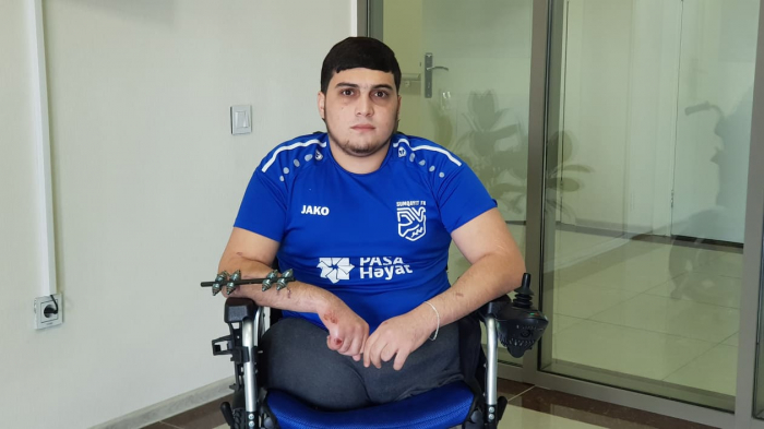 """""""Kəsilən ayaqlarımın göydə fırlandığını gördüm"""" -  Qazi Camal Alxasov"""