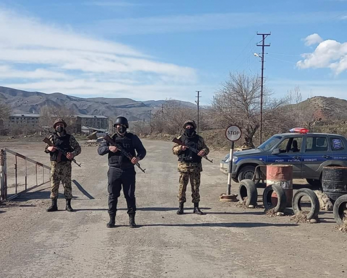 Security is under full control in liberated Gubadli region
