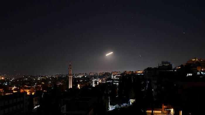 Luftabwehr fängt israelische Raketen ab