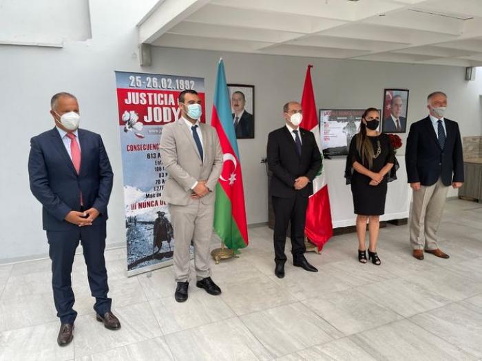 Conmemoraron a las víctimas del genocidio de Joyalí en Perú