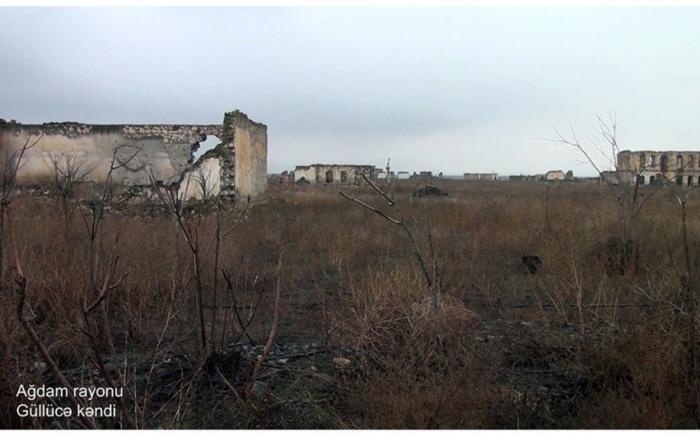 El Ministerio de Defensa de Azerbaiyán emite imágenes del pueblo Gulluca de Aghdam