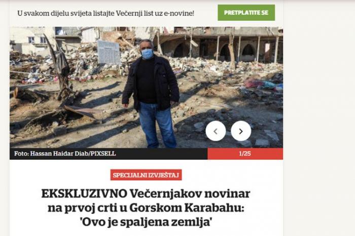 Führende Weltmedien schreiben über den Vaterländischen Krieg und den Völkermord von Chodschali