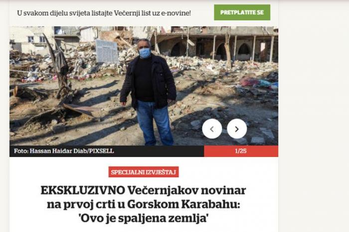 Los medios de información influyentes escriben sobre el genocidio de Joyalí