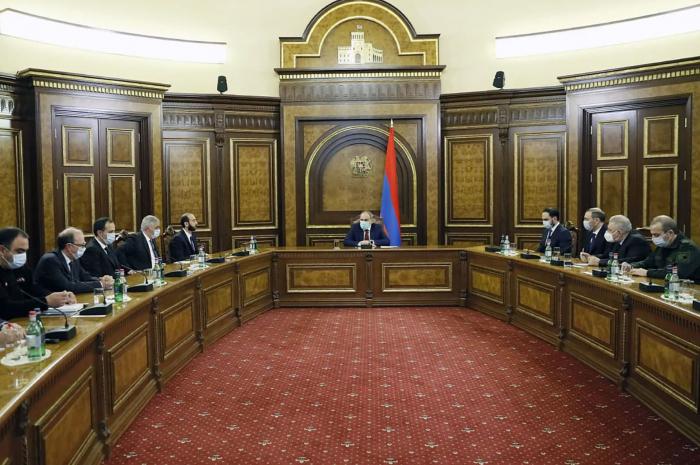 Armenia's Pashinyan convenes Security Council meeting