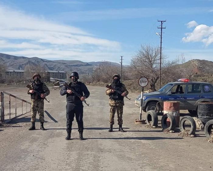 Sicherheit in der befreiten Region Gubadli ist unter voller Kontrolle
