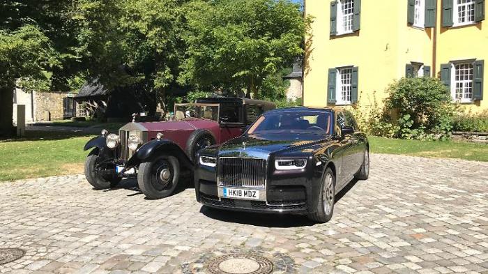 Phantom I vs. VIII - luxuriöse Zeitgeschichte