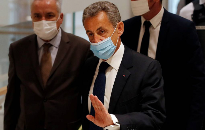 Former French president Sarkozy jailed for 3 years on corruption charges