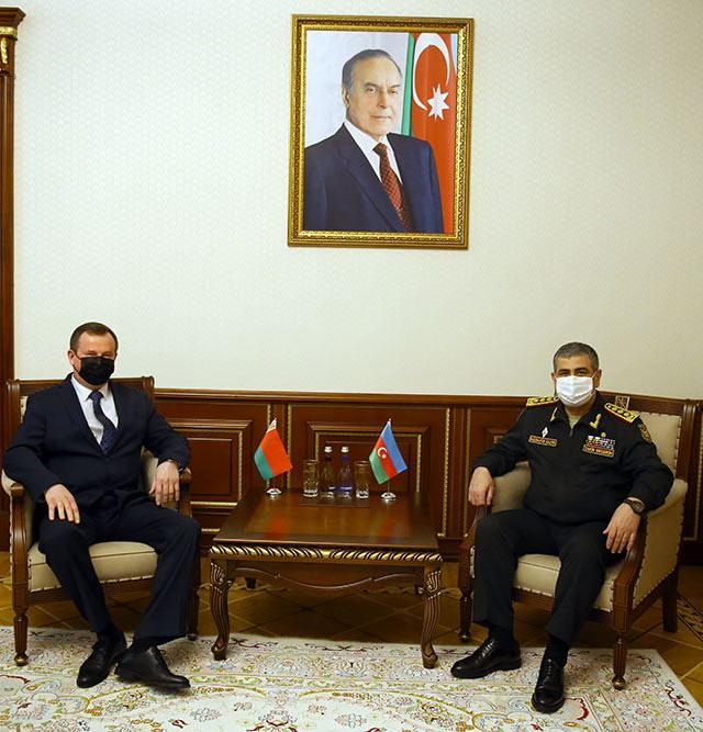 Azerbaijan, Belarus discuss prospects for development of military cooperation
