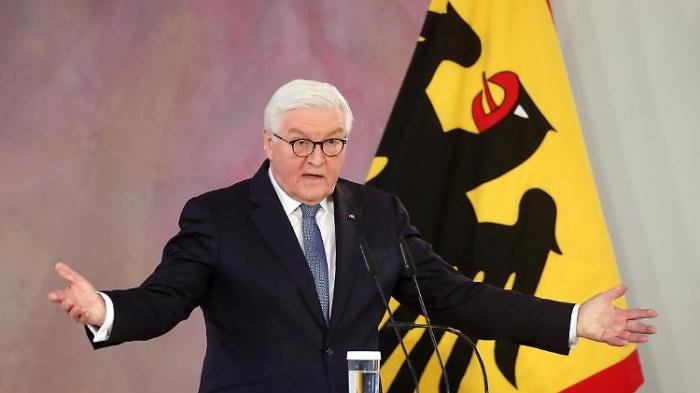 """Steinmeier fürchtet   """"Feinde innen und außen"""""""