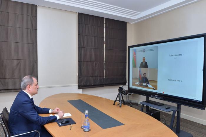 Azerbaijani FM attendsInt'l Model NAM Simulation Exercise