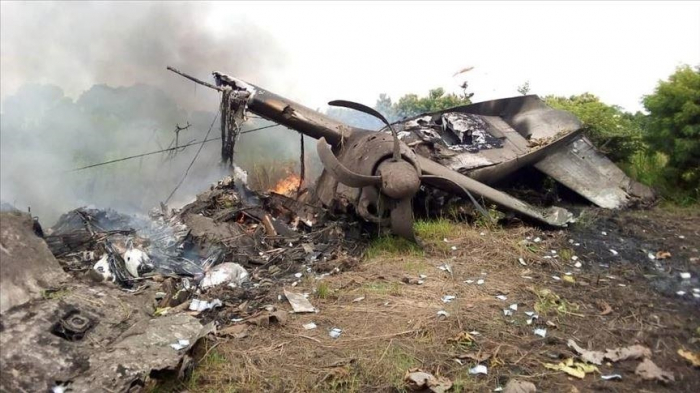 10 killed in plane crash in South Sudan