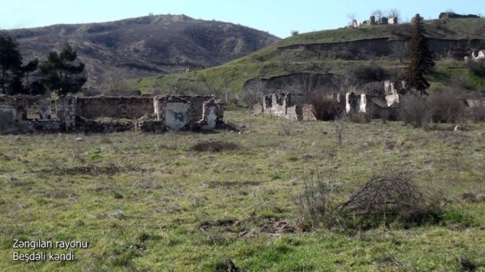 Aserbaidschanisches Verteidigungsministerium teilt neues   Video   aus Zangilan