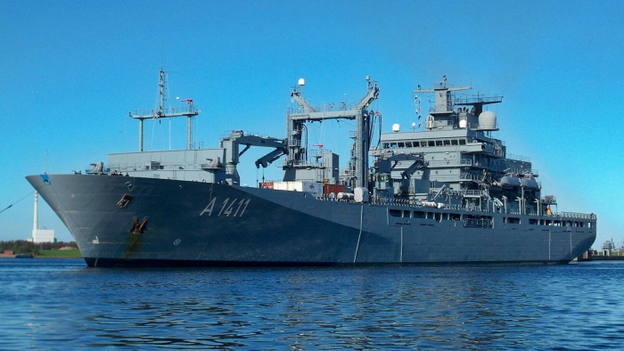 """Über 200 Militärs an Bord:     Deutschland schickt """"Berlin"""" für Embargo-Einsatz ins Mittelmeer"""