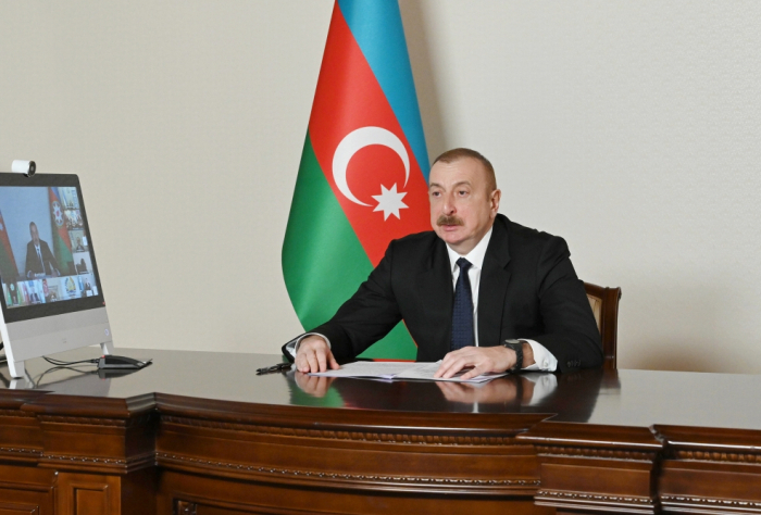 President Aliyev invites member states of ECO to benefit from Zangazur corridor