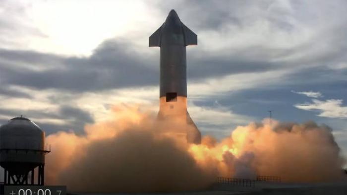 SpaceX-Rakete fängt erneut Feuer