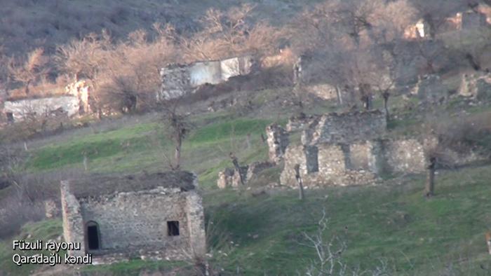 Garadagli-Dorf in Füzuli -   VIDEO