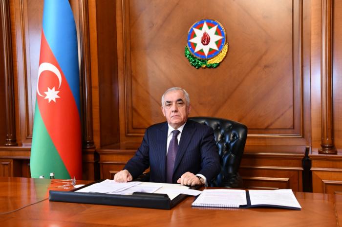 Se celebró una reunión bajo la presidencia de Ali Asadov