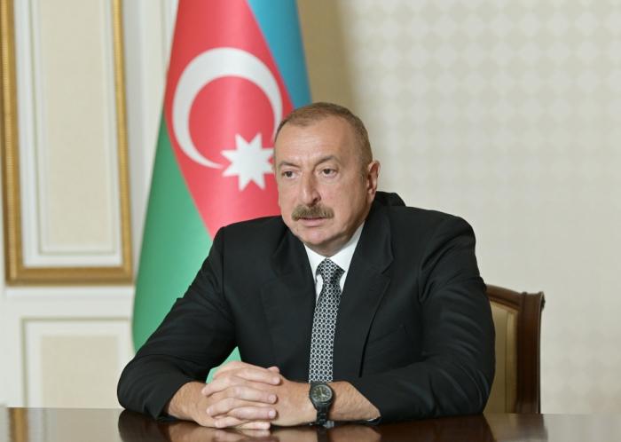 """""""Wenn sich Armenien normal verhält, kann es von diesem Prozess profitieren""""   - Ilham Aliyev"""