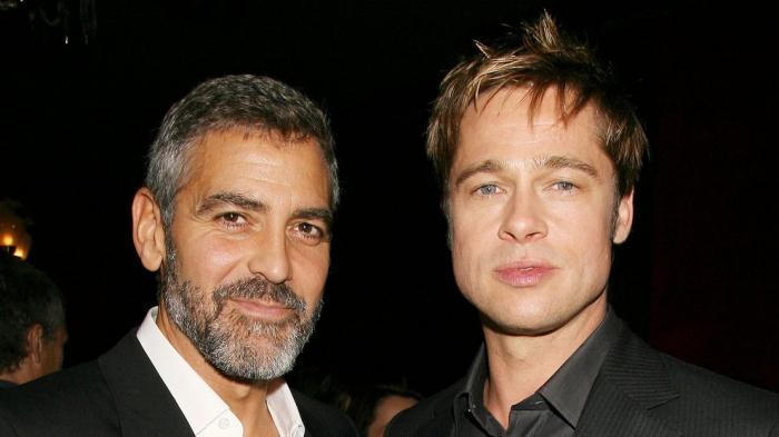 Brad Pitt terminó su amistad con George Clooney por Angelina Jolie, pero otra famosa actriz intenta reconciliarlos