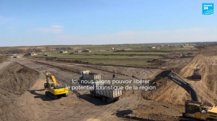 """""""France 24"""" Qarabağla bağlı reportaj hazırladı -  VİDEO"""
