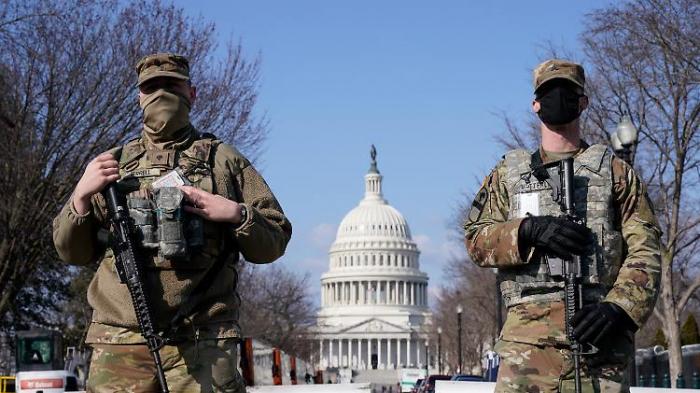 Nationalgarde soll Kapitol länger beschützen