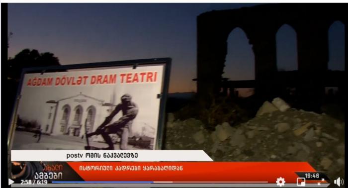 """""""Armenier haben alle religiösen Denkmäler in Karabach zerstört  """" - georgischer Journalist"""