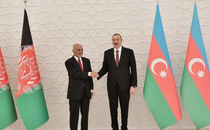 Afghan leader tells President Aliyev: 'Like Azerbaijani people, your father would be proud of you'
