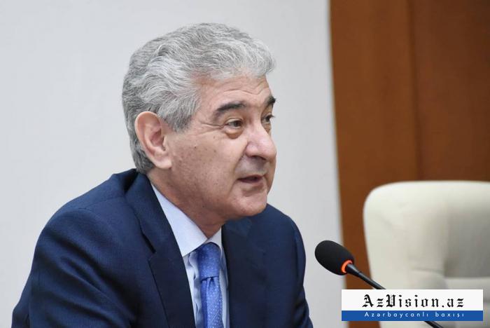 Ali Ahmadov re-elected deputy chairman of board of ruling Azerbaijani party