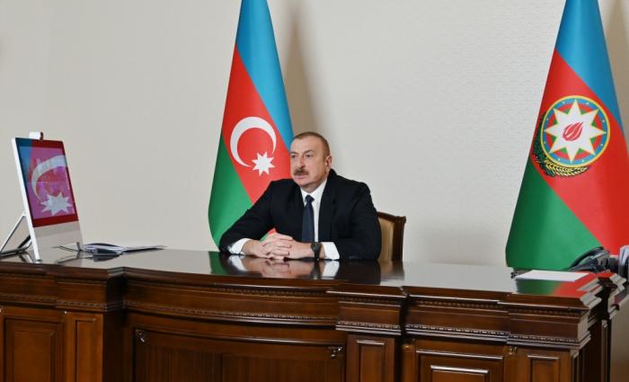 """Presidente Aliyev:  """"Adelantamos en nuestras pretensiones delibiradamente"""""""